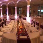 décoration table mariage bordeaux - Les Bulles d'Emilie
