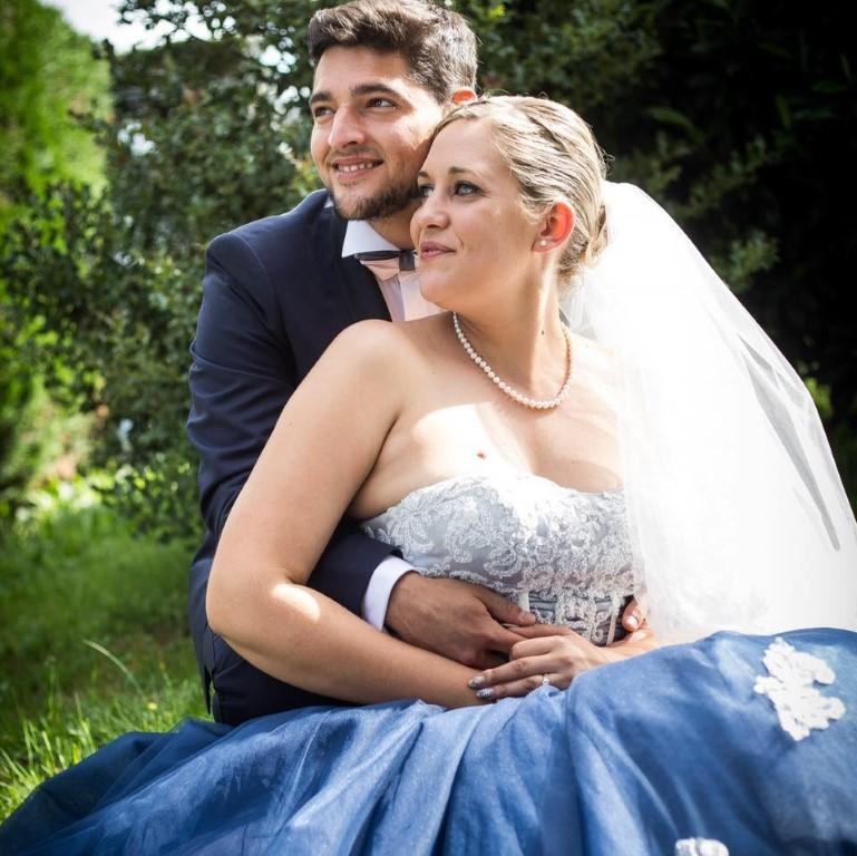 couple mariage - Les bulles d'Emilie