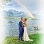 mariage à annecy - photo de couple