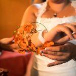 bouquet de mariée bracelet
