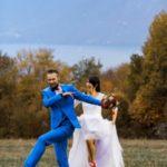 photo de mariage couple qui danse