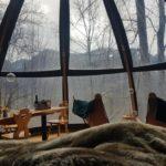 dormir dans une bulle en Haute Savoie