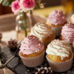 cupcakes roses et blanc