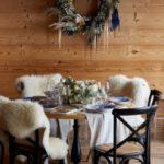 table ronde décorée mariage