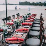 mariage sur le sable