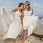 mariage à l'etranger sur la plage